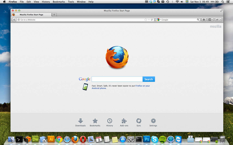 Firefox For Mac Version 10.4.11